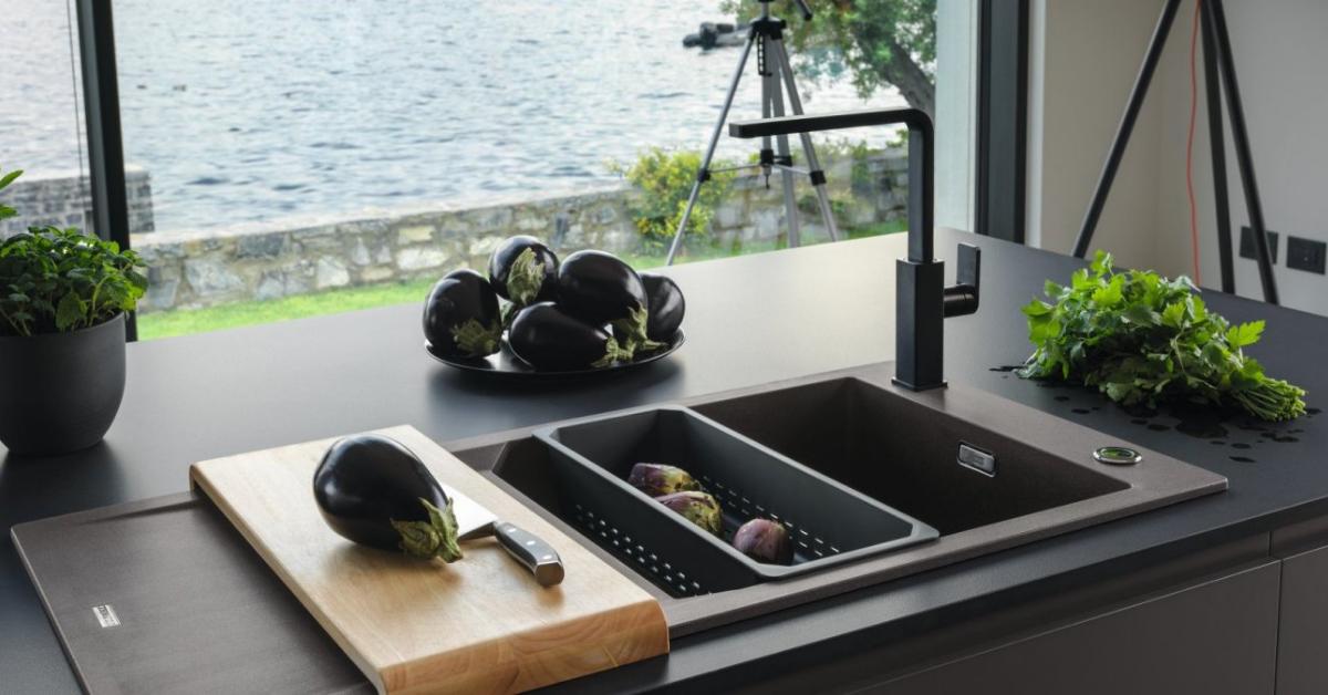 Article Mitigeurs Franke / Comprex & Armony cuisine La Garenne-Colombes