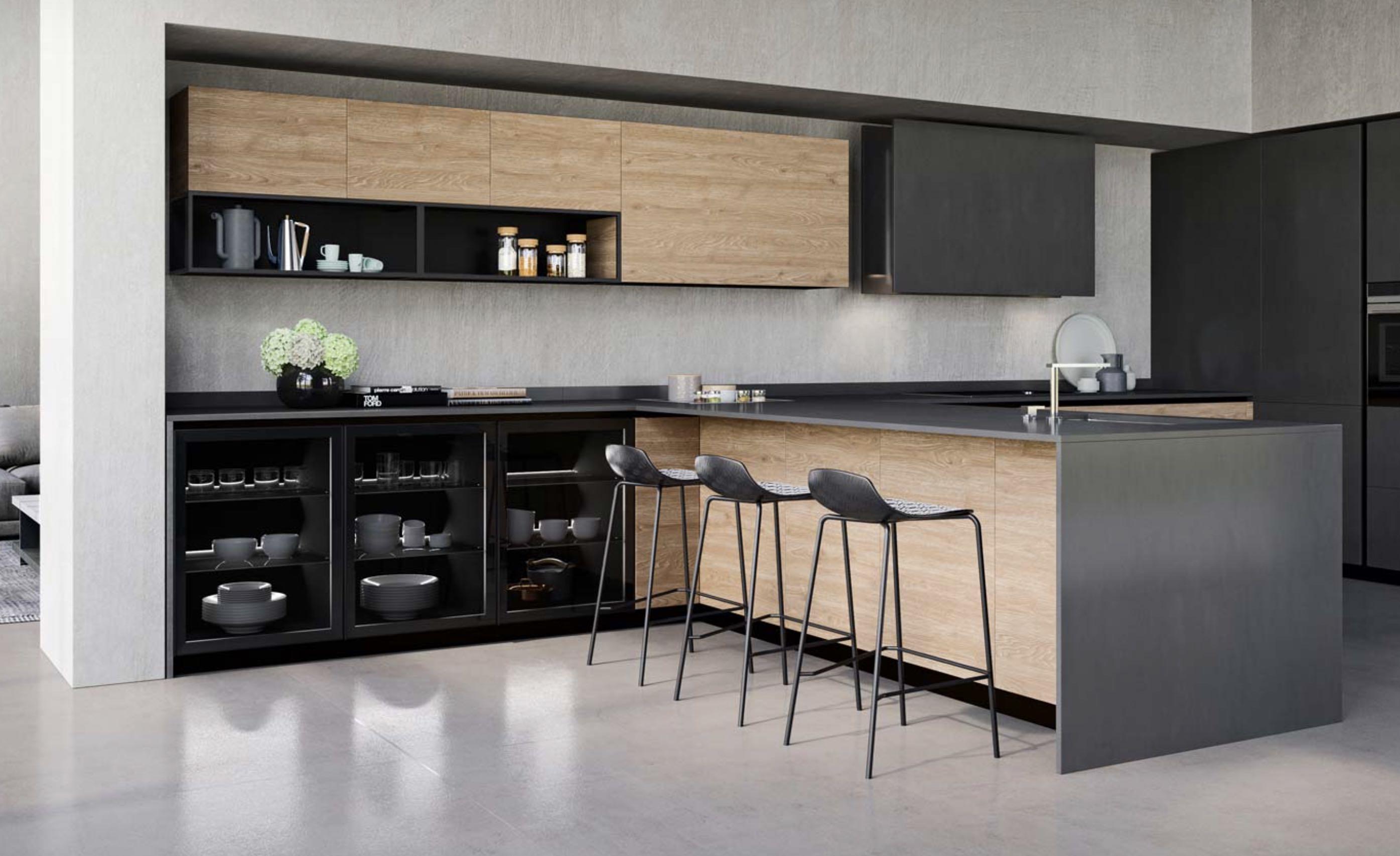 Comprex & Armony cuisine La Garenne-Colombes 92 - Réaliser un espace bar dans sa cuisine