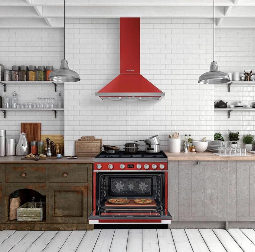 Armony Cuisine - Showroom La Garenne-Colombes - article piano de cuisson smeg