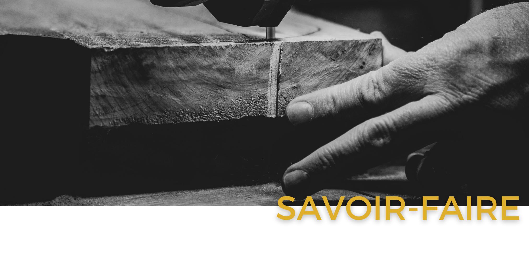 Binova & Armony cuisine - Showroom La Garenne Colombes - bandeau savoir-faire