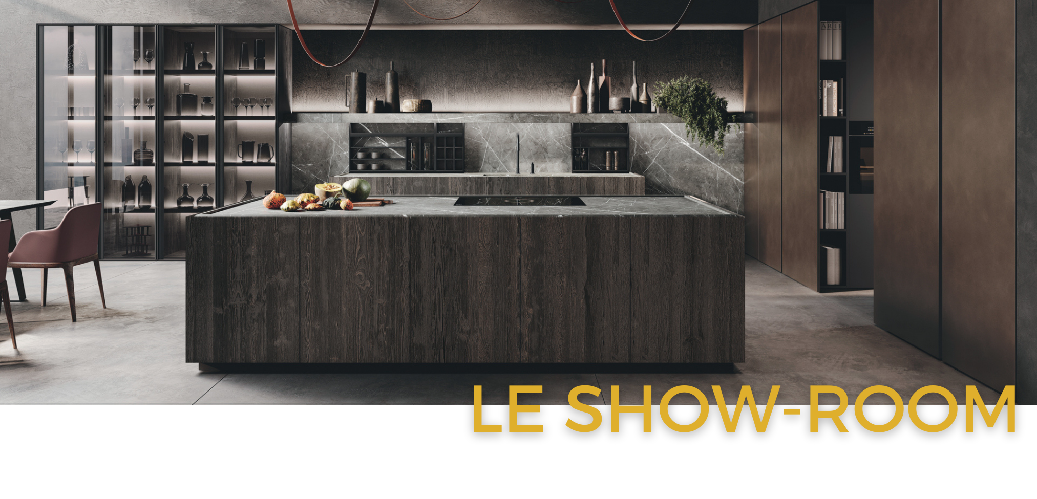 Binova & Armony cuisine - Showroom La Garenne Colombes - bandeau showroom