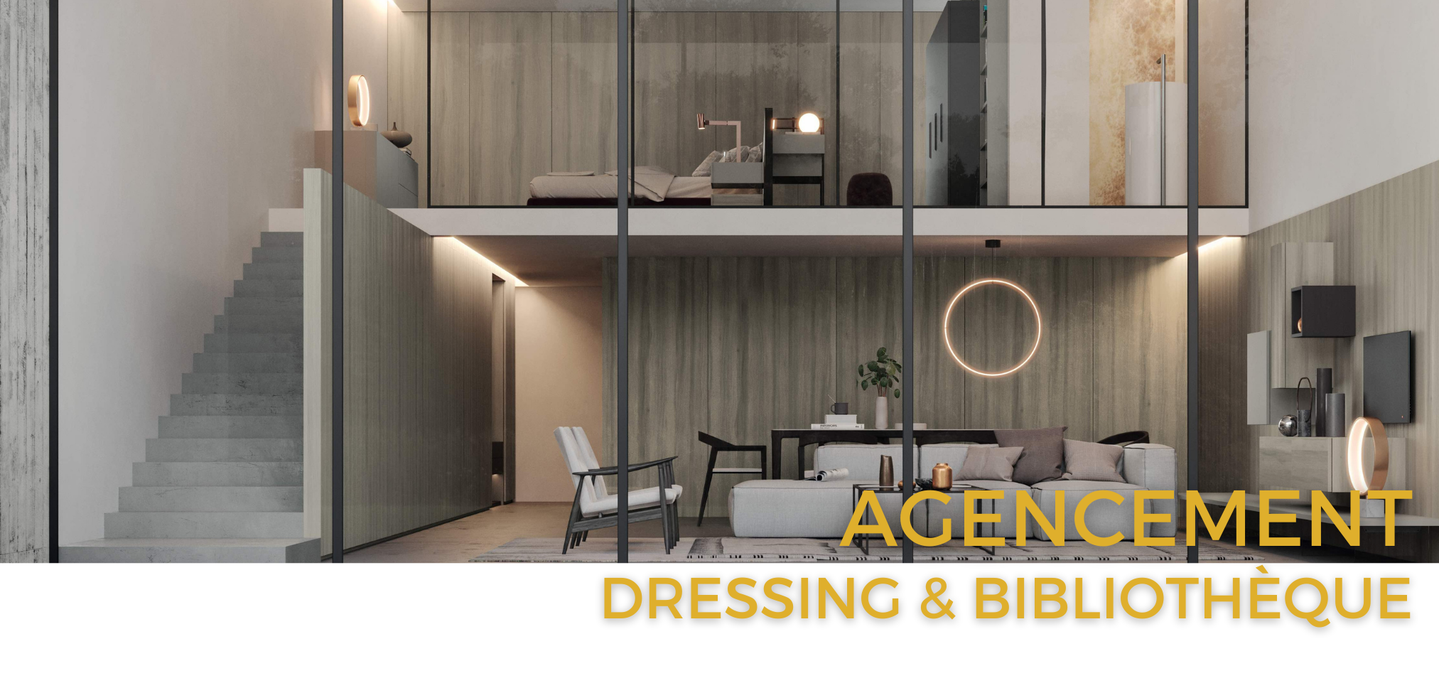 Agencement intérieur - Binova & Armony cuisine - Showroom La Garenne Colombes
