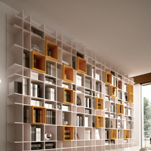 Kico bibliothèque - Binova cuisine - Showroom La Garenne Colombes