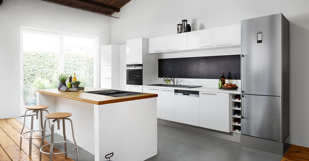 Réfrigérateur connecté - Showroom Immodesign - Binova & Armony cuisine - Showroom La Garenne Colombes
